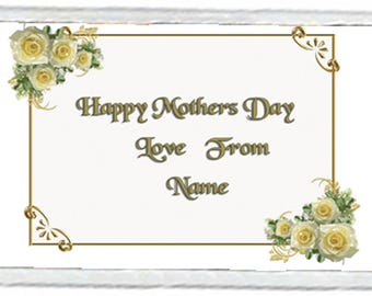 Mother's Day Acrylic Fridge Magnet Number 4
