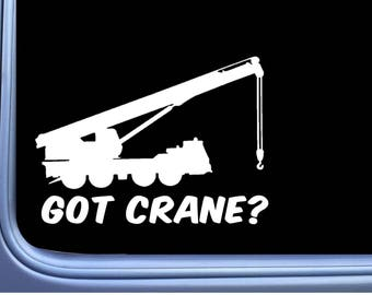 Got Crane L992 8 inch sticker decal operator construction