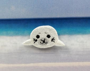 small animal seal decoration patch Embroidered patch applique patch embroidery iron on patch sew on patch (A113)