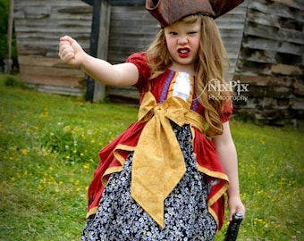 Captain Hook! Inspired Dress Product Number #CPI1001