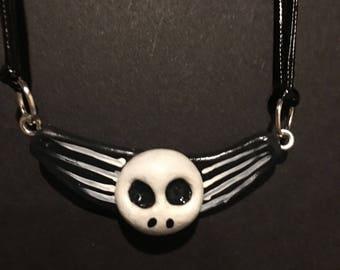 Jack Skellington inspired necklace