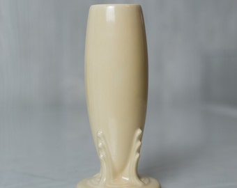 SALE Vintage Fiestaware Ivory Bud Vase