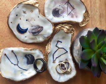 Zodiac Constellation Oyster Dish