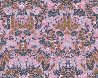 Cotton + Steel - Rifle Paper Co. - Menagerie - Tapestry in Violet