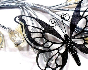 Glass Butterfly Embellishments G3