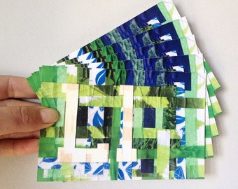 L is for Leaf Postcards