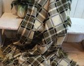 Vintage welsh blanket - M...