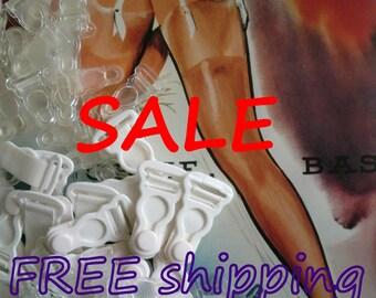 50% SALE 12/24 GARTER Clips FREE shipping by Merckwaerdigh