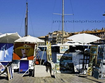 French Riviera| St Tropez Art Print | French Photography