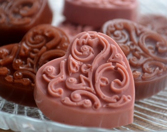 Valentine's Day Chocolate Soap - Chocolate Heart Soap - Chocolate Soap - Candy Gift Box - Valentine - Candy Soap