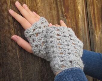 Sweet June Wristers: Crochet Women's Wristers/ Mitts /Fingerless Gloves, Fall Fashion, Winter Fashion