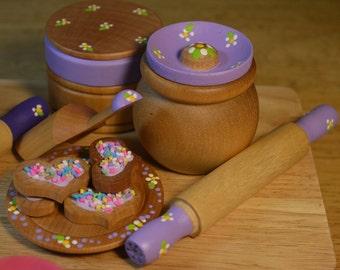 Pretend Play Baking Set Food Kitchen Accessories Please Read Description For Sizes