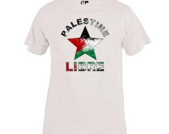 Free Palestine star T-shirt. Palestine kids t-shirt
