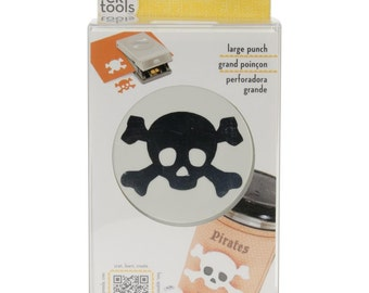 "SALE! Pirate Skull - 2"" Large Punch (E5431211)"