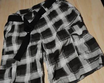 No Fear Black Mens Shorts