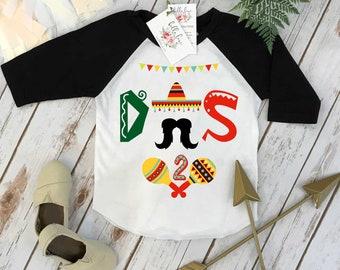 Second Birthday Shirt, Fiesta Birthday, 2nd Birthday shirt, Fiesta and Fun, Taco Party,Taco Bout Fun, Taco Birthday, Mexican Fiesta, I'm DOS