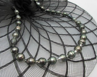 Pearls Necklace Of course baroque strand for chain No. 1