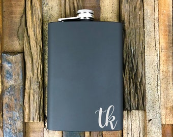 personalized flasks, customized flask, engraved flasks, personalized engraved flask, custom engraved flask, laser etched flask