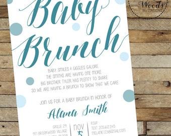 Baby Brunch invitation