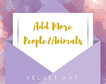 Add More People or Animals to Your Custom Illustration