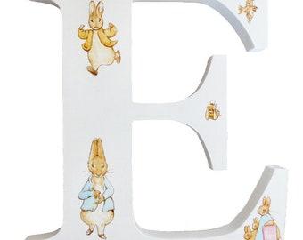Beatrix Potter Alphabet Letter