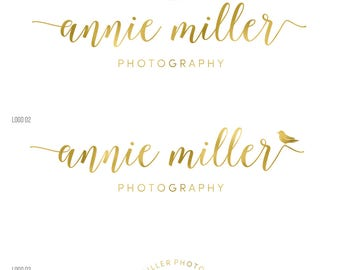 Bird logo, Photography logo and watermark, Wedding Logo design, Event planner Brand design, Custom logo stamp, Business logo Premade logo 05