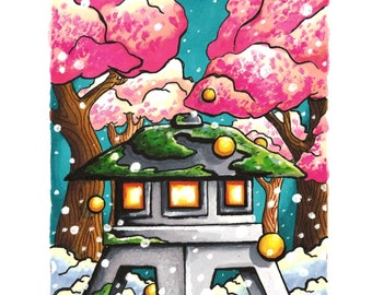 Japanese Garden 5x7 Print