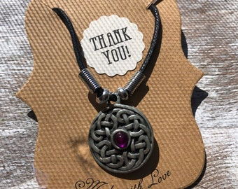"19"" Irish Celtic Knot Necklace"