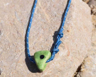 "Rope Climber Bracelet ""Panel I Green"""