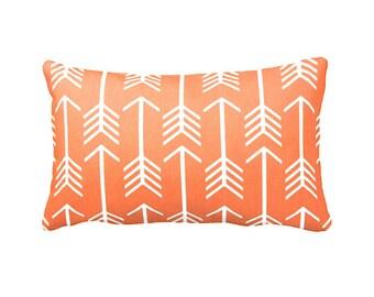 7 Sizes Available: Orange Pillows Orange Throw Pillows Orange Pillow Cover Orange Cushions Orange Lumbar Pillows Accent Pillows Fall Decor
