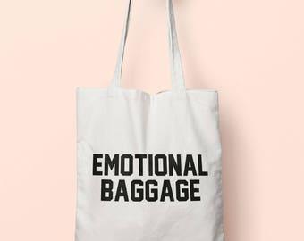 Emotional Baggage Tote Bag Long Handles TB1063