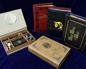 Book jewelry box Etsy