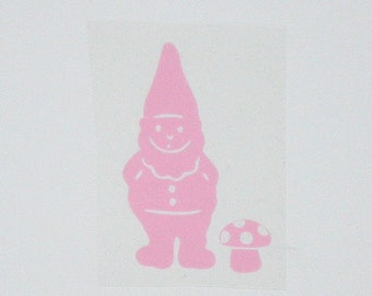 Sterling Silver flex fusible pink gnome