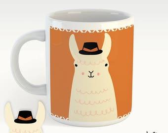 No prob-LLAMA! - cute mug