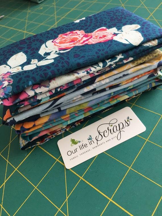 Blue for you!  Remnant Bundle-4 fabrics
