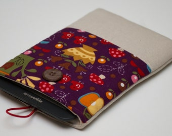 Kindle Cover, Kindle Sleeve, Kindle Pouch
