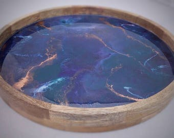 Resin Serving Tray, Drinks Tray