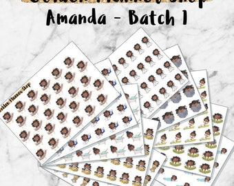 Amanda Grab Bag - Batch 1 - Planner Stickers
