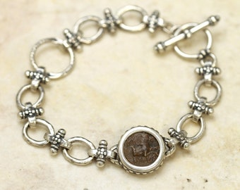 6319 Kyme Coin Bracelet