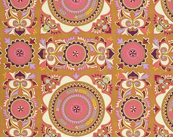 Cotton Amy Butler Cotton Mantra in Linen from the Eternal Sunshine Collection 1/2 Yard