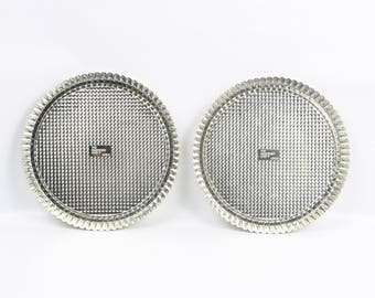 1990's Pampered Chef Fluted Tart Pans (2) Excellent Vintage Condition.