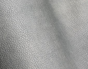 Faux Leather, Vinyl Fabric, Upholstery, Vinyl, Slick Silver
