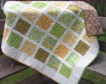 PDF QUILT PATTERN....Simple, Quick and Easy, French Window Panes