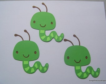 Caterpillar die cuts