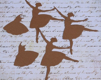 Ballerina Chipboard Die Cut Set