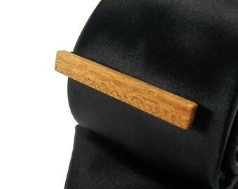Wood Tie Clip - Ironwood - Groomsmen gift - 5th wedding anniversary present
