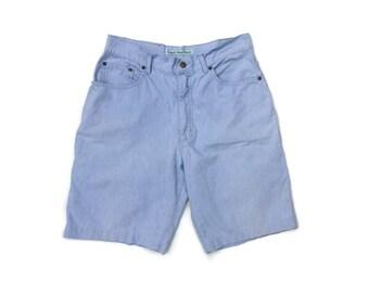 Vintage shorts 80s CASUCCI womens denim shorts  Hipster  Shorts High waisted jeans shorts Mid length shorts  Festival Shorts Streetstyle