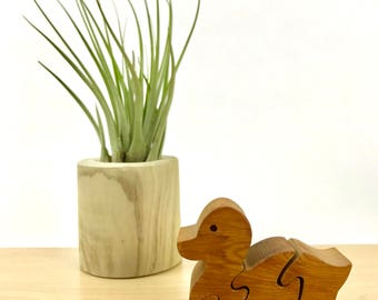 Handcrafted Wooden Duck Puzzle