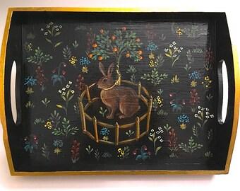 Rabbit in Captivity (tray)