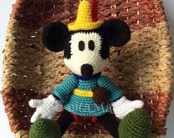 Mickey Tailor mouse Disney Amigurumi stuff toy